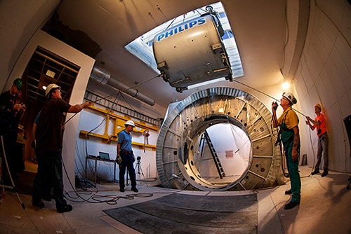 magnetic resonance linac installation LM